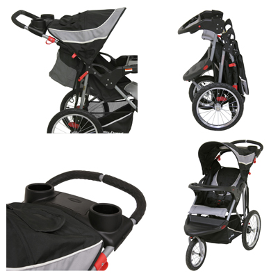 Baby Trend Jogging Stroller For Children Up to 50 lbs