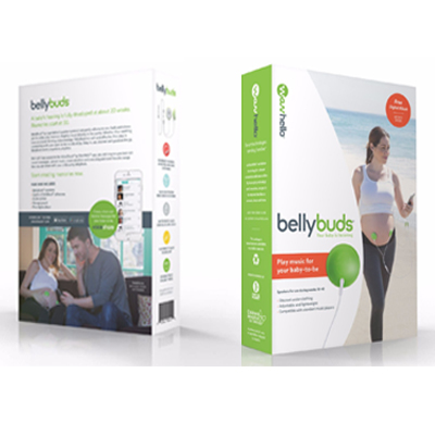 BellyBuds Pregnancy Speaker System Sound And Voices Music