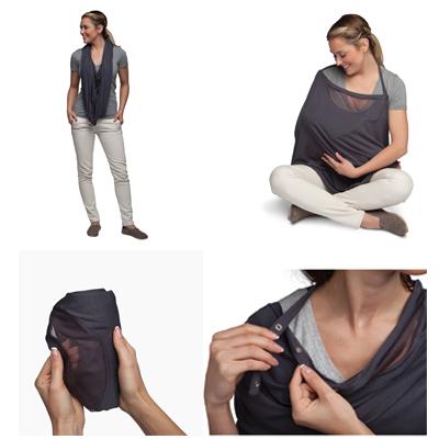 Boppy Infinity Nursing Scarf Lightweight Ultra-soft Modal Fabric For Nursing