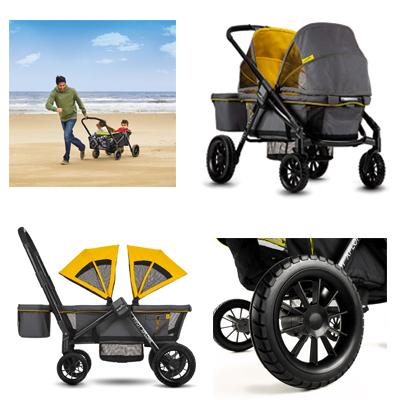 Evenflo Pivot Xplore Double Stroller Wagon New Riding Experience For Kids