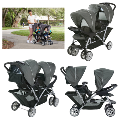 Graco DuoGlider Double Stroller For Newborn Parent