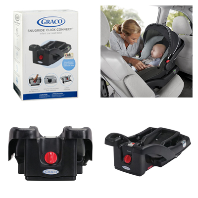 Graco Infant Click Connect Car Seat Base Black Cover