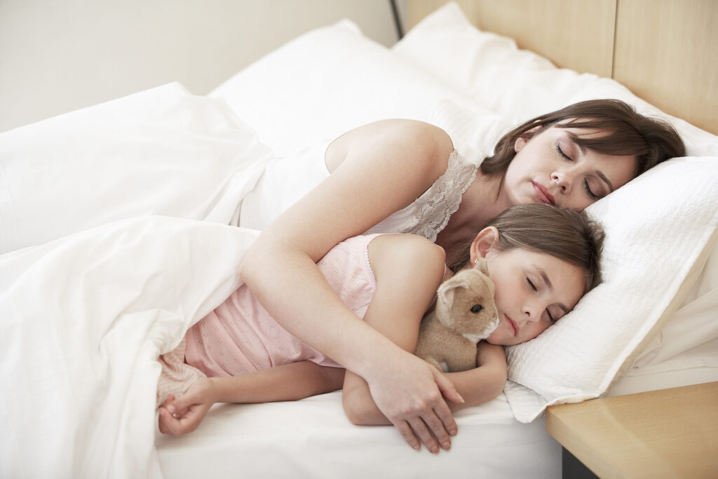 How A Child Sleeps Early