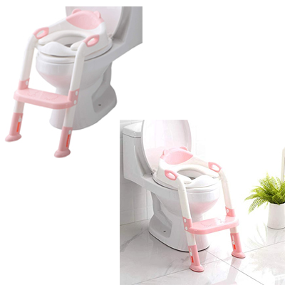 Potty Training Seat For Toddlers Boys & Girls Pink Color