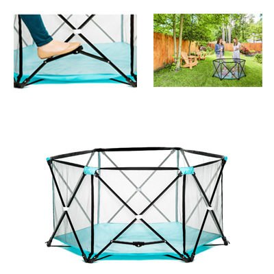 Regalo My Play Portable Playard With Easy Carrying Case For Your Kids