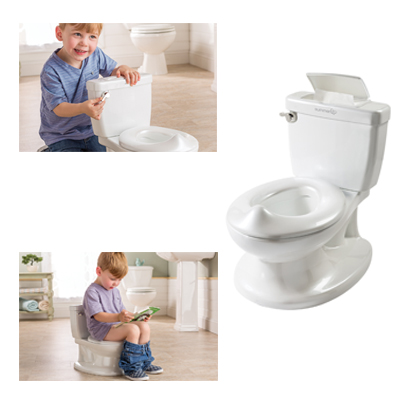 Summer Infant My Size Potty With Flushing Sounds And Wipe Dispenser White Color