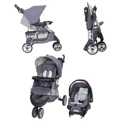 The Baby Trend EZ Ride 35 Travel System Stroller & Infant Car Seat