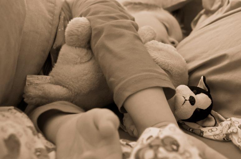 The Way The Baby Sleeps
