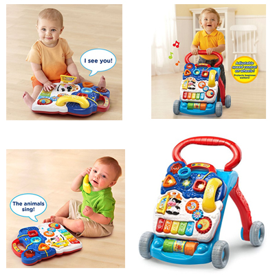 VTech Sit Learning Walker For Your Baby From 9 Months To 3 Years Old
